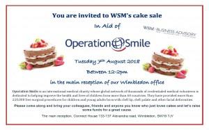WSM Cake sale